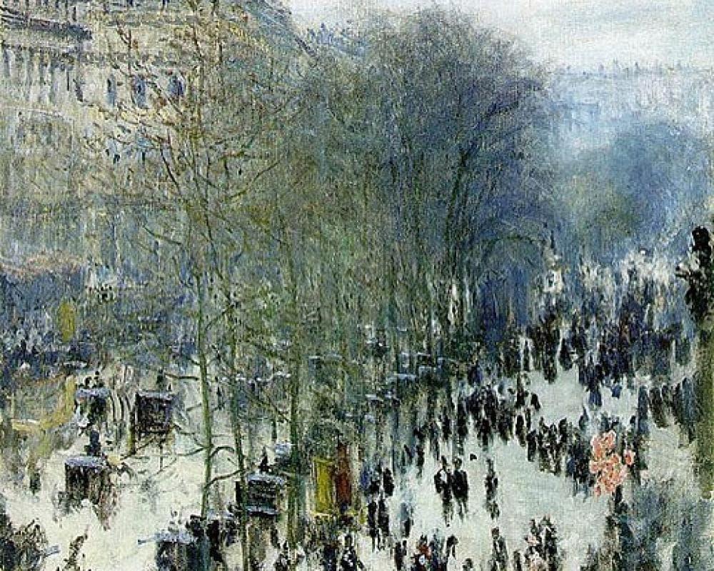 Бульвар Капуцинов в Париже